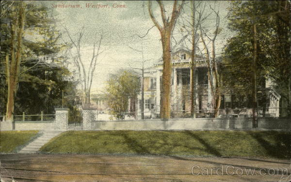 Westport Sanitarium before it was demolished in the 1970's and the site turned into a park.